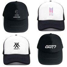 4572f4052cb FancyLove Korean Kpop Baseball Caps BTS TWICE GOT7 MONSTA X WANNER ONE  Adjustable