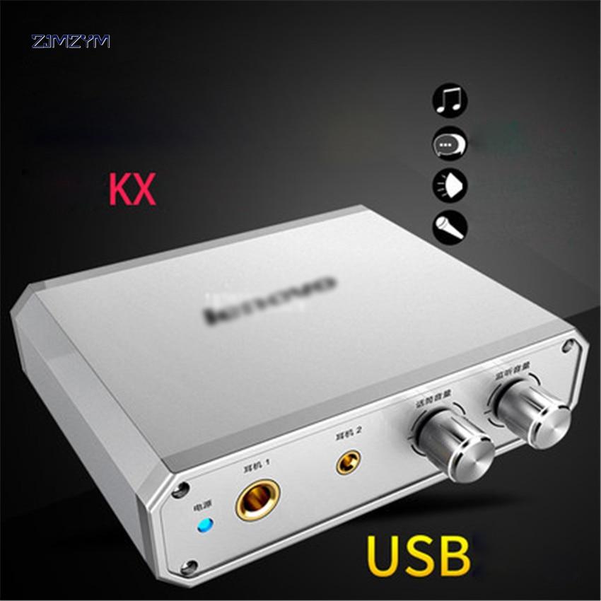 UC20 2,1 externa tarjeta de sonido USB adaptador de Audio USB micrófono tarjeta de sonido para Mac ganar Compter Android Teléfono Móvil en tarjeta de sonido