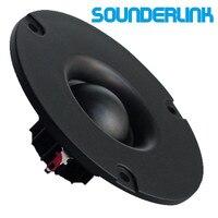 1 pair Audio Labs 3 inch Dia 80MM 25 core 15W HiFi speaker silk soft Dome tweeter
