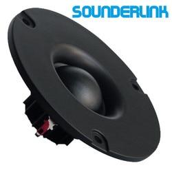 1 pair Audio Labs 3 inch Dia 80MM 25 core 15W HiFi speaker silk soft Dome horn tweeter