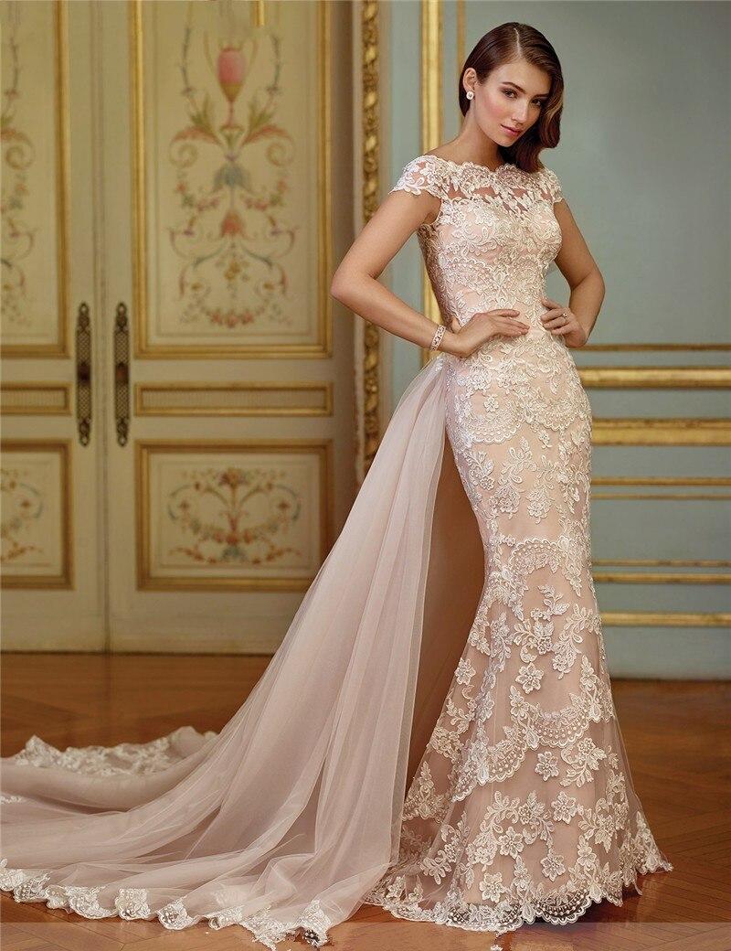 Popular detachable skirt wedding dress buy cheap for Buying wedding dress from china