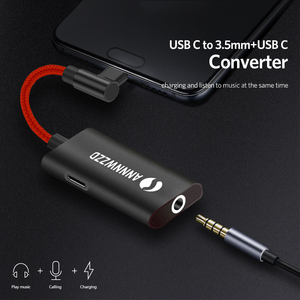 Image 3 - Type C to 3.5mm Earphone cable Adapter usb 3.1 Type C USB C male to 3.5 AUX audio female Jack for Xiaomi 6 Mi6 Letv 2 pro 2 max2