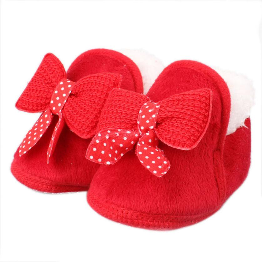 2018 Infant Baby shoes Walking Toddler Girls Boys Crib Shoes Soft Boots