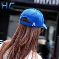 2016 Coreano Moda Camurça Boné de Beisebol Para Mulheres Dos Homens Ajustável Casquette Gorras Snapback Osso Sportcap Sólida cap Cap Hip Hop