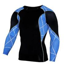 Men Pro Quick Dry Workout Gymming Top Tee Sporting Runs Yogaing Compress Fitness Clothes Exercise Plus