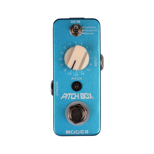 Mooer Pitch Box Digital Phase Effect Pedal 3 Modes Harmony/Pitch Shift/Detune True Bypass hotel harmony 3 прага