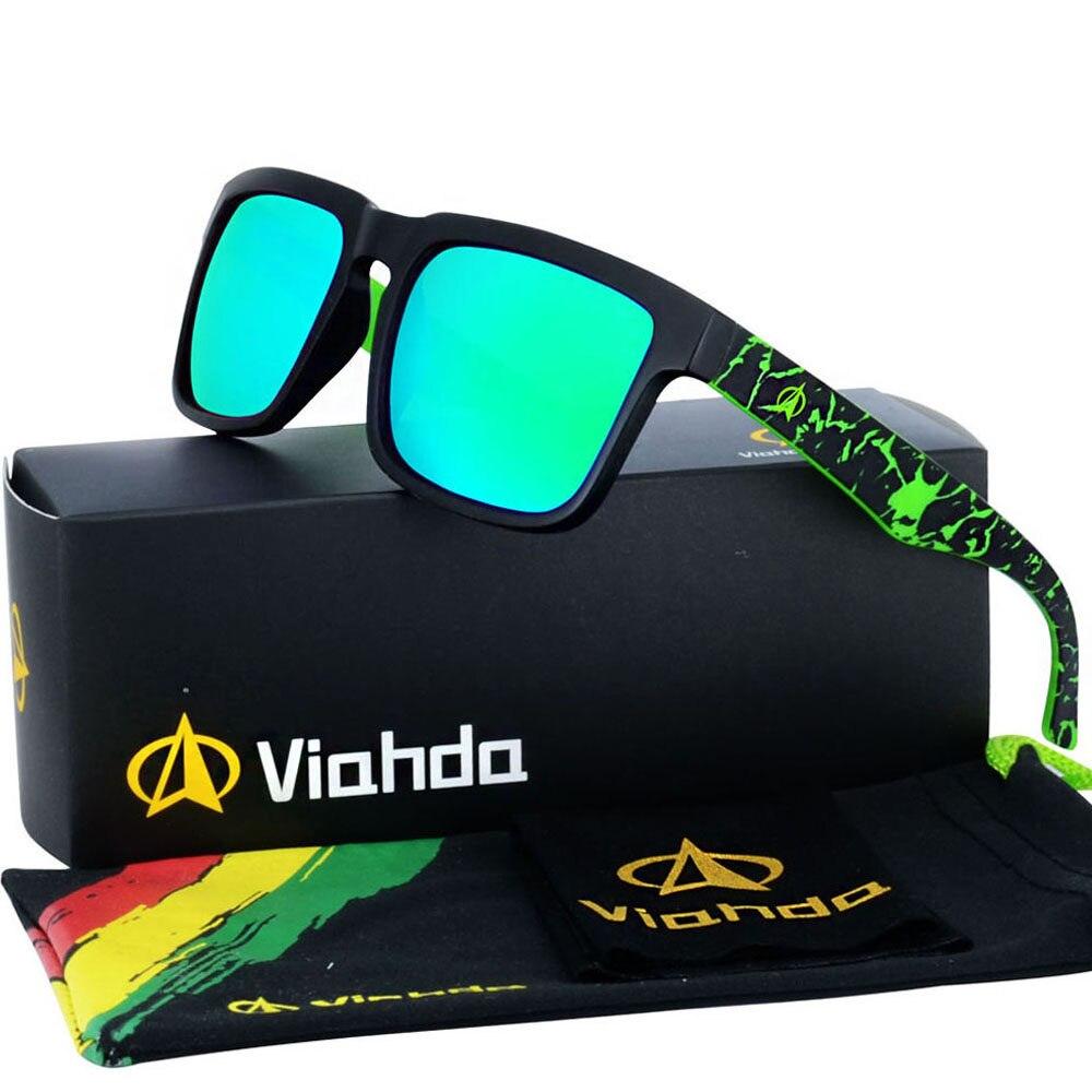 8e0fe6f34d52a VIAHDA 2019 novo e coole Ssunglasses Polarizada Tons Homens Clássico Marca  Designer óculos de Sol Óculos