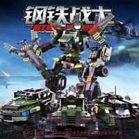 Legode Transformation Series Robot Car building block Steel Warrior Model Kits Action Figure Legoings toy blocks for Christmas