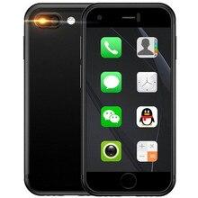 Oryginalny SOYES 7S Super Mini Android inteligentne mobilne telefony 1GB + 8GB 5.0mp czterordzeniowy podwójny SIM Dual standby odblokowany kieszonkowy telefon komórkowy