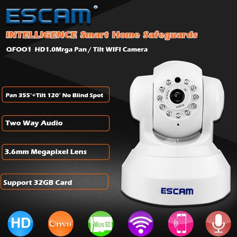 bilder für Escam qf001 mini wifi ip-kamera hd 720 p überwachungskamera-system p2p ir ir-cut-zwei-wege-audio micro sd card slot nachtsicht