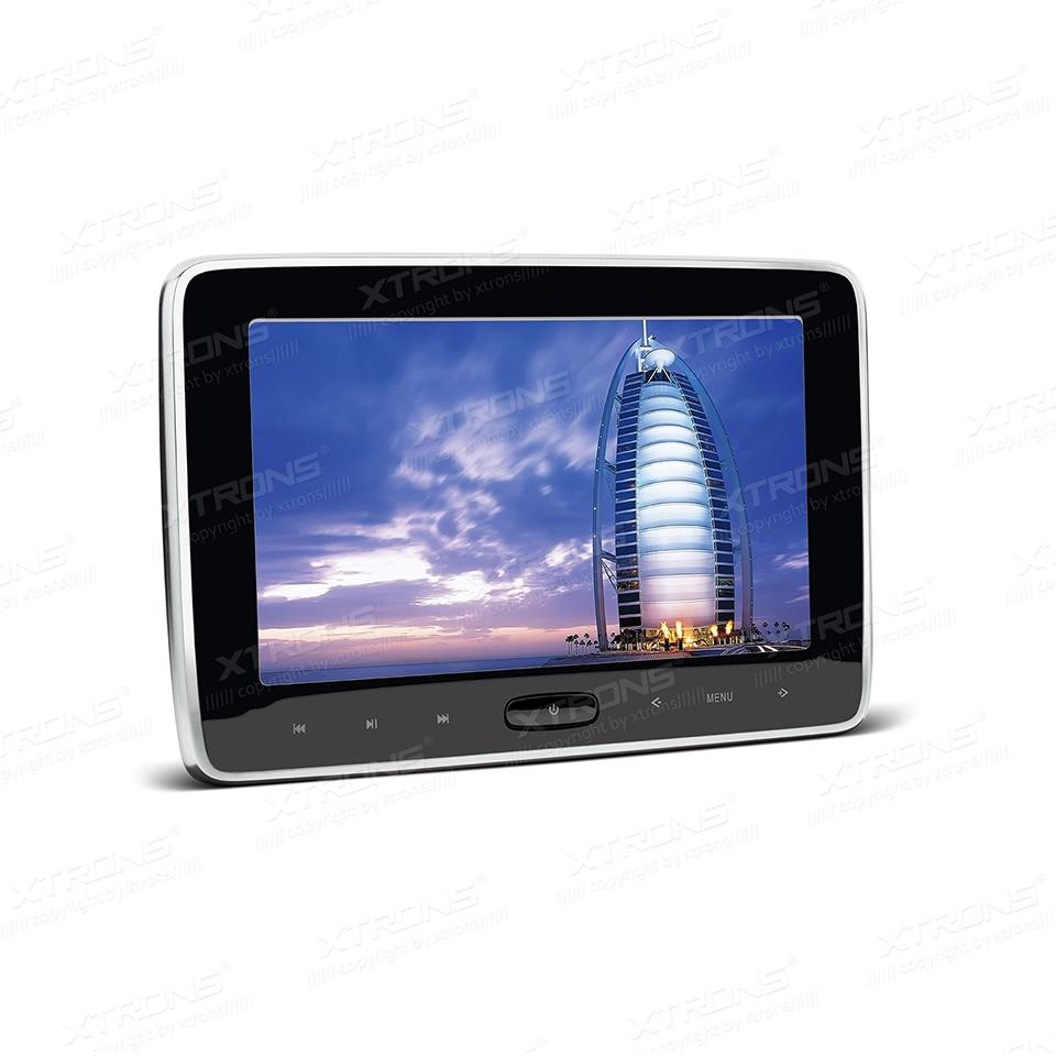 10.1 HDMI Подушки Детские Мониторы подголовник автомобиля dvd плеер 1024*600 Экран Auto игры Портативный ПК аудио touch Панель USB SD ИК FM CD media