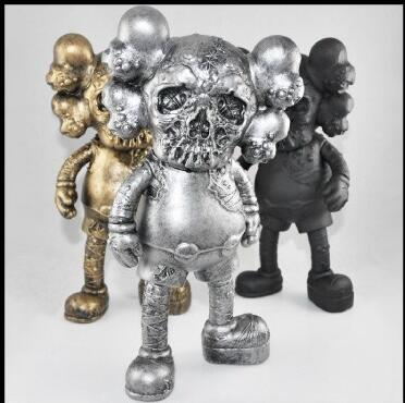 Kaws skull doll trend design doll dolls hand-done decoration christmas gift New Arrival OriginalFake KAWS X PUSHEAD