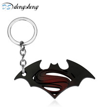 Batman Superheld Gift-10 Schlüsselanhänger