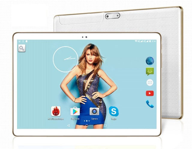 Free Shipping 10 inch tablet pc octa core MTK8752 3G GPS Android 5.1 4GB/32gb Dual Camera 5.0MP 1280*800 IPS Screen