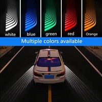 Qirun led Greeting Atmosphere Decorative Daylights Brake Fog lamp Reverse Headlight Turn signal for Peugeot 2008 205 206 207 208