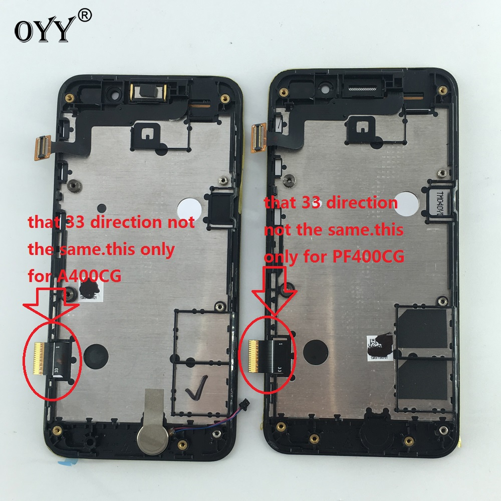 800*480 LCD Display Touch Screen Digitizer Glass Panel Replacement parts For Asus Zenfone 4 A400CG PadFone mini PF400CG original a1419 lcd screen for imac 27 lcd lm270wq1 sd f1 sd f2 2012 661 7169 2012 2013 replacement