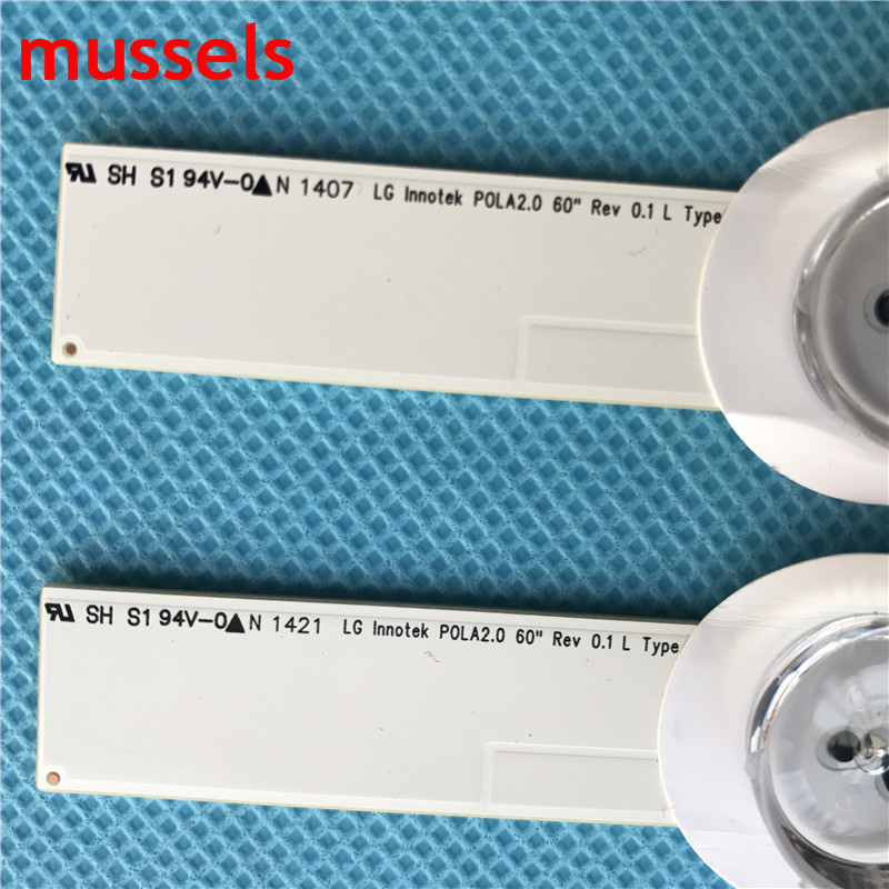 """Image 4 - LED Backlight strip For LG 60"""" inch TV 16Lamp 1250mm INNOTEK DRT 3.0 60GB6580 60GB6500 LC600DUF 6916L 1720A 6916L 1721A Original-in Industrial Computer & Accessories from Computer & Office"""