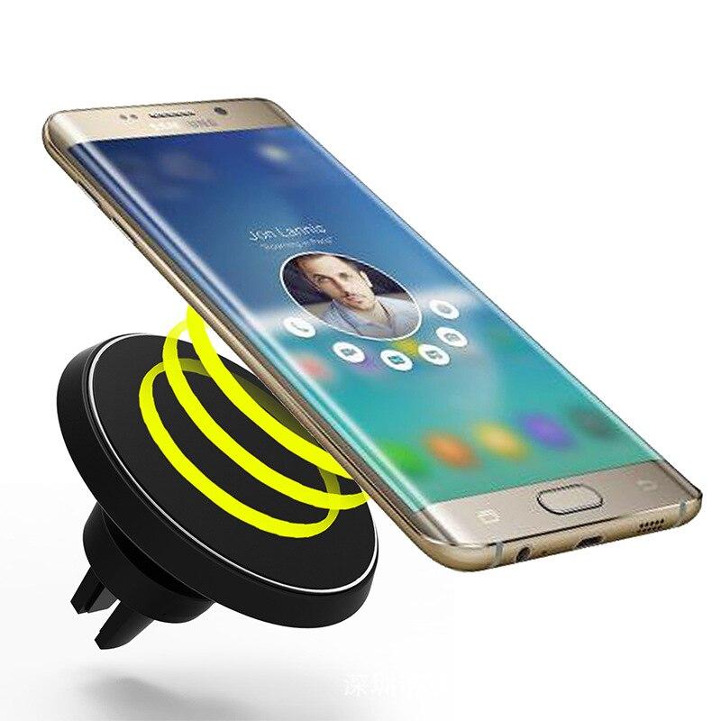 2 en 1 Universel Magnétique Voiture Sans Fil Chargeur Sortie Dossier Mobile Téléphone titulaire 360 Degrés Pour Samsung S8 Pour iPhone 7 8 Plus X