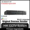 Hikvision Original English Version DS-9004HFI-RT 4CH Hybrid DVR Support HD-TVI/analog/IP camera 1080p real-time recording RJ45