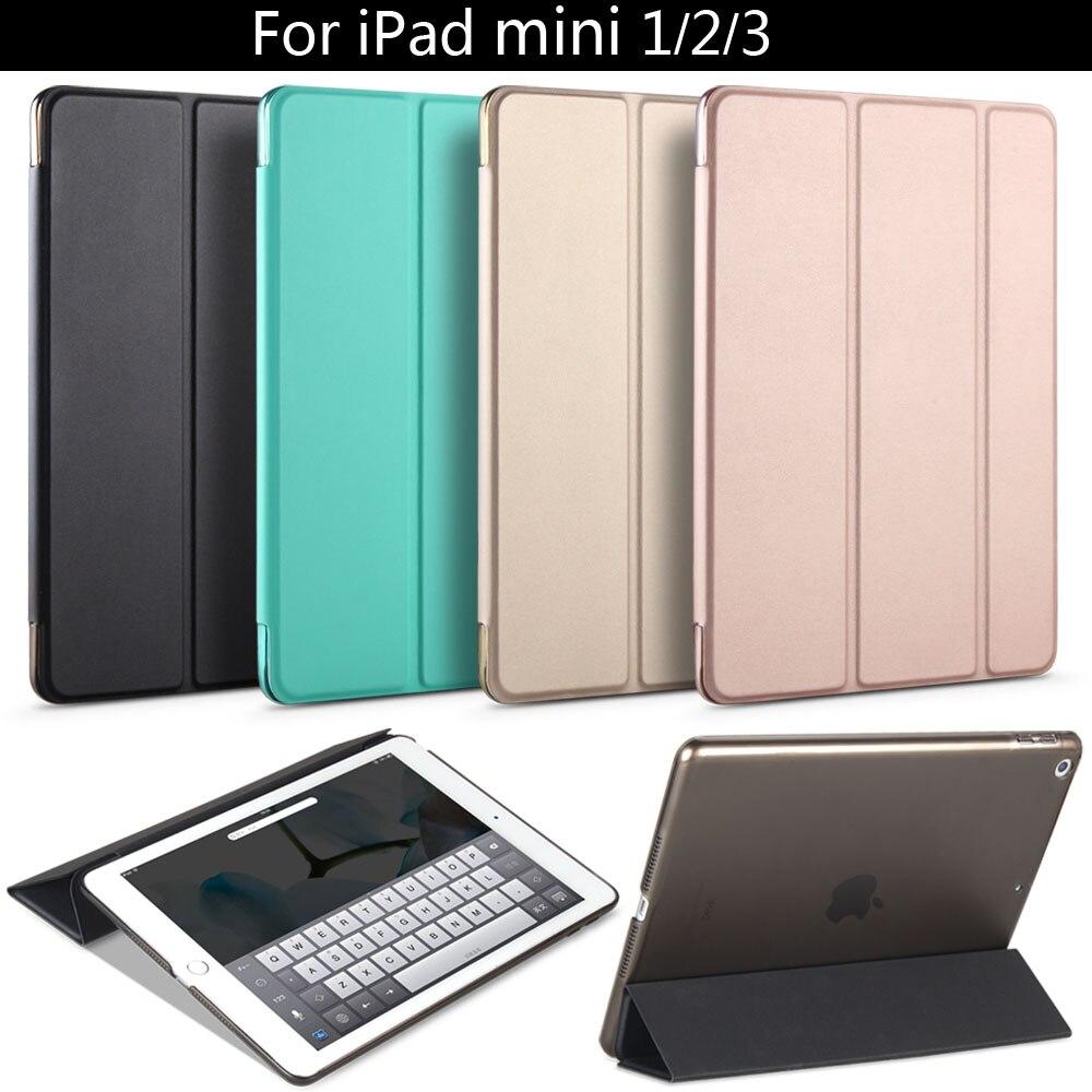 Pour iPad mini 1 2 3, ZVRUA Youpi Couleur PU Smart Cover Cas Aimant réveil sommeil Pour apple iPad mini1 mini2 mini3