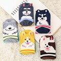 2016 New High-Quality Cotton Women's Socks Fashion Leisure Atmosphere Cartoon Dog Woman Socks Funny Socks For Woman Girl Lady