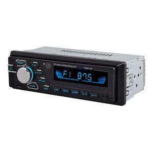 Image 5 - Автомобильный MP3 плеер, 12 В, Bluetooth, автомобильный стерео аудио в тире, один, 1 Din, fm приемник, Aux вход, USB, MP3, WMA, радио плеер, BT, Автомобильный MP3