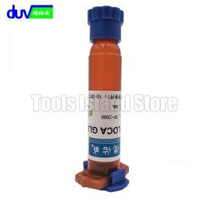 Жидкий оптический клей Loca UV 5 мл, клей для ремонта сотового телефона Huawei iPhone, мобильный телефон, Ремонт сенсорного экрана