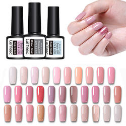 LEMOOC гель лак для ногтей 229 чистого цвета 8 мл замочить от маникюра УФ гель лак DIY Дизайн ногтей лак украшения для ногтей