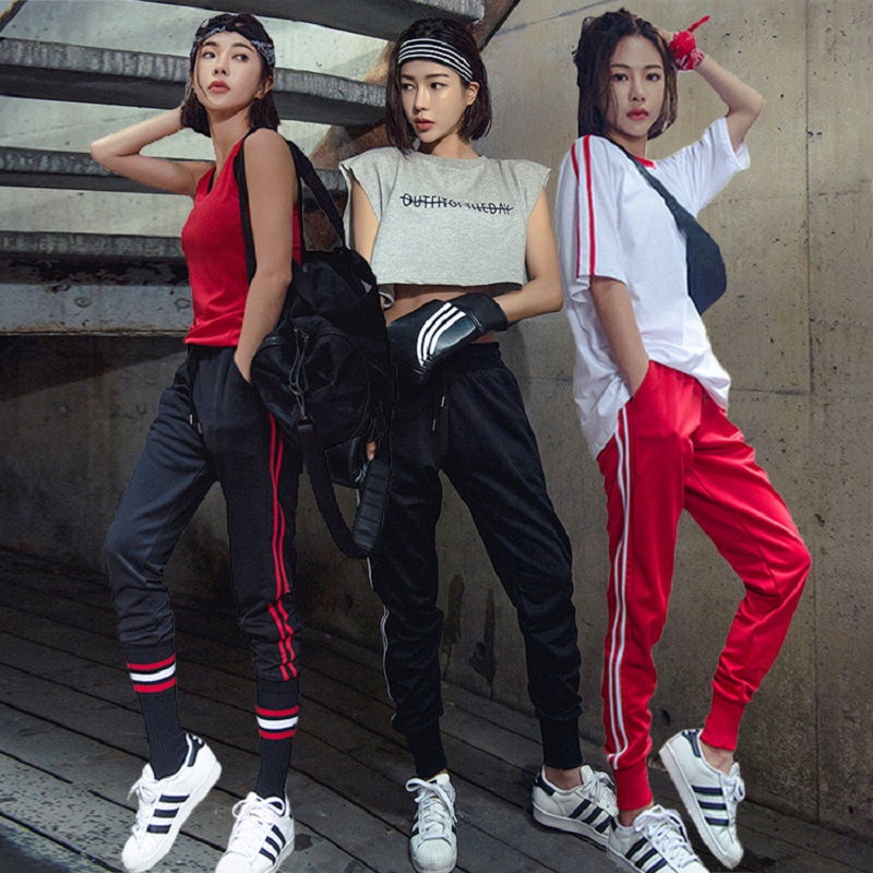 Women Tracksuits Sport Suits Girls Sports Running Gym Wear Striped Fitness Yoga Set Fitness Gym Slim Summer Clothes Sports Suit