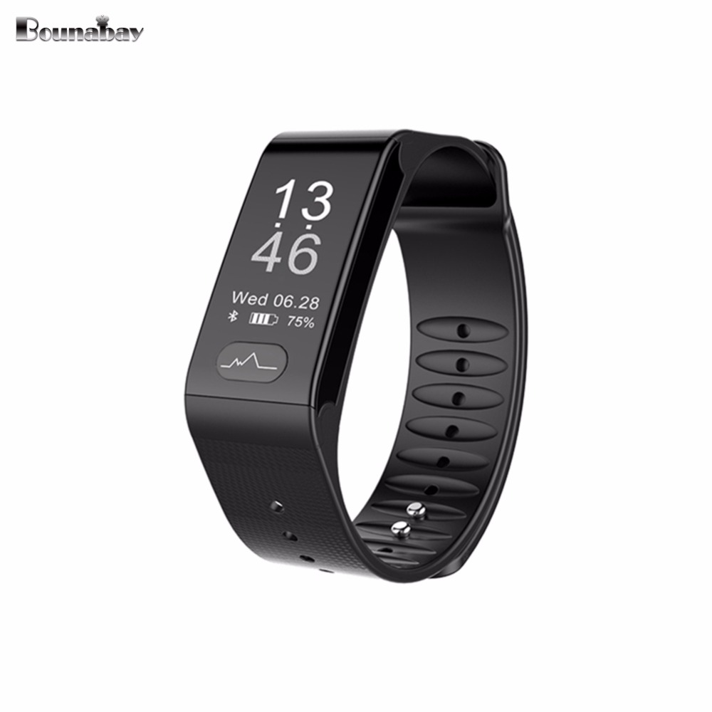 BOUNABAY Heart Rate Bluetooth Smart woman watch for apple android phone watches waterproof Pedometer Clock Touch women Clocks latest hi watch 2 bluetooth smart watch phone watch gps positioning micro letter generations for apple android ios phone