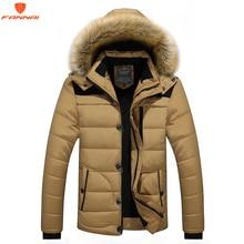 חדש ממותג חורף jacket עבור גברים 2018 חדש צמר מעיל לגברים למטה מבודד בגדים אופנתי גדול גודל כותנה מעיל 5XL6XL