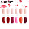 Bluesky Factory Price 2017 Pearl Series Fashion Nail Arts Design 10ml Gel Polish