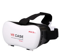 Play Game VR Headset Virtual Reality Viewer for 3D Movie Video VR Case Goggles for Zte LG Lenovo Xiaomi Eyeglass Imax 3D Glasses