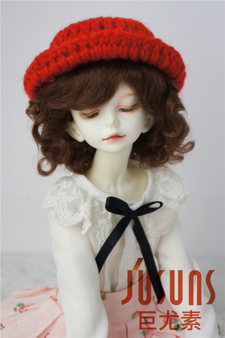 JD012 MSD 1/4 BJD mohair wig Lovely Baby Wave toy wig 7-8 inch doll accessories for Porcelain doll new 1 3 bjd wig short hair doll diy high temperature wire for 1 4 msd bjd sd dollfie