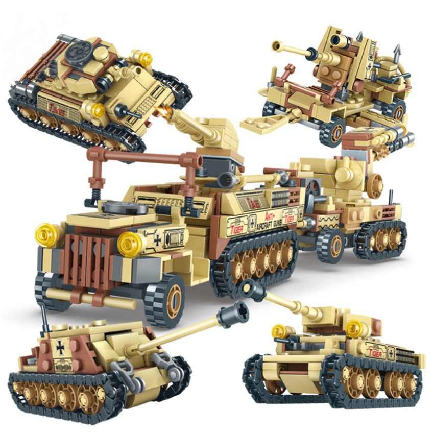 678Pcs Legoingly SWAT Military Tank Weapon Super Army 4in1 Thunder Fire Army Car Vehicle Building Block Toys  dropshipping678Pcs Legoingly SWAT Military Tank Weapon Super Army 4in1 Thunder Fire Army Car Vehicle Building Block Toys  dropshipping