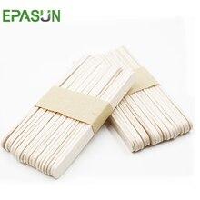 EPASUN 40 шт./лот деревянные палочки для мороженого, палочки для Фруктового мороженого, художественные поделки из натурального дерева, инструменты для торта, Детские ручные работы