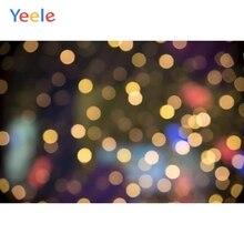 лучшая цена Yeele Circle Light Bokeh Children Pets Portrait Photography Backgrounds Customized Photographic Backdrops For Photo Studio