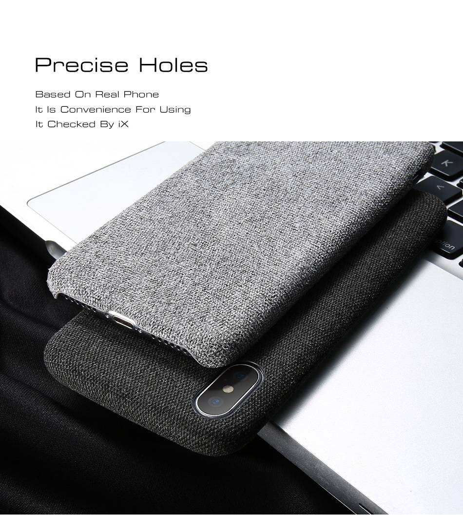 HTB1KpyEhcj B1NjSZFHq6yDWpXaC - KISSCASE Cloth Patterned Case For iPhone X 10 Simple Vintage Business Case For iPhone X 6S 7 8 Plus Capinhas Ultra Slim Fashion