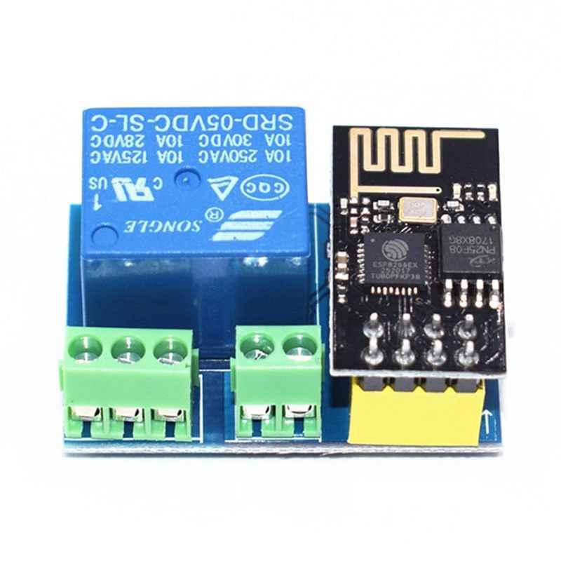 ESP8266 ESP-01S 5V moduł przekaźnika WIFI rzeczy inteligentny dom zdalnego sterowania przełącznik dla Arduino aplikacji telefonu ESP01S moduł bezprzewodowy WIFI