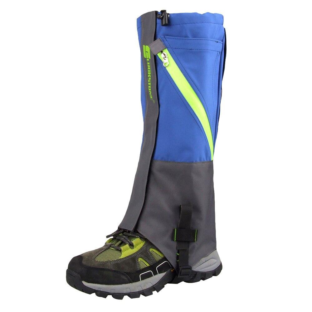 Neue 2 stücke Outdoor 2 Schichten Wasserdichte Camping Wandern Schnee Bein Gamaschen Für Outdoor Skate Ski Walking Shin Bein Schützen ausrüstung