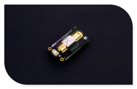 DFRobot Série Gravidade high-precision Analog Infravermelho Sensor De CO2, 4.5 ~ 5.5 V DC saída DAC 0 ~ 5000ppm À Prova D' Água compatível com Arduino