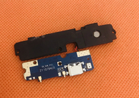 Used Original USB Plug Charge Board+Loud speaker For Bluboo S8 MTK6750T Octa Core Free shipping