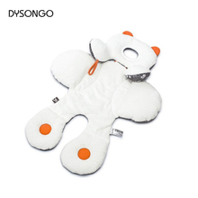 DYSONGO Baby Soft Stroller Pram Two Sided Seat Cushion Head Body Reversible Support Safe Pad Stroller Seat Cushion Pram Mattress
