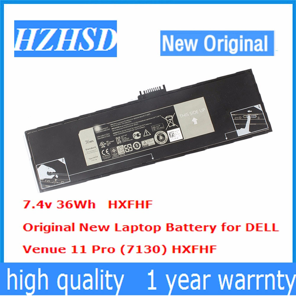 7.4v 36wh New Original HXFHF Laptop Battery For DELL For Venue 11 Pro (7130) 11 Pro (7139) 11 Pro 7140