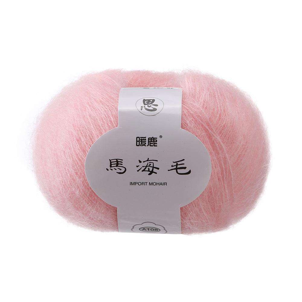 Soft Mohair Cashmere Knitting Wool Yarn DIY Shawl Scarf Crochet Thread Supplies Soft Katoen Garen Voor Haken For Scarf Shawl