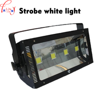 110~240V LED 400W strobe white light efficient energy saving integrated lamp beads stroboscopic stage flash light 1PC