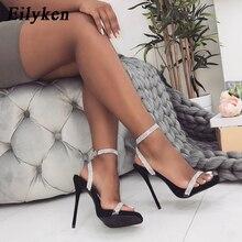 Eilyken Gladiator Sandals Women Wedding Sequins San