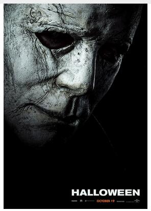 Halloween Poster Art.Us 2 72 26 Off Halloween Poster New 2018 Movie Michael Myers Curtis Art Wall Decor Silk Print Poster In Painting Calligraphy From Home Garden On