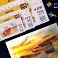 A3/A4/A5 Acquerello Marcatori di Carta 24 Lenzuola Dipinto a Mano Disegno Tavolo da Disegno Della Decalcomania Acquerello Carta Pad Libro di Arte forniture di Cancelleria