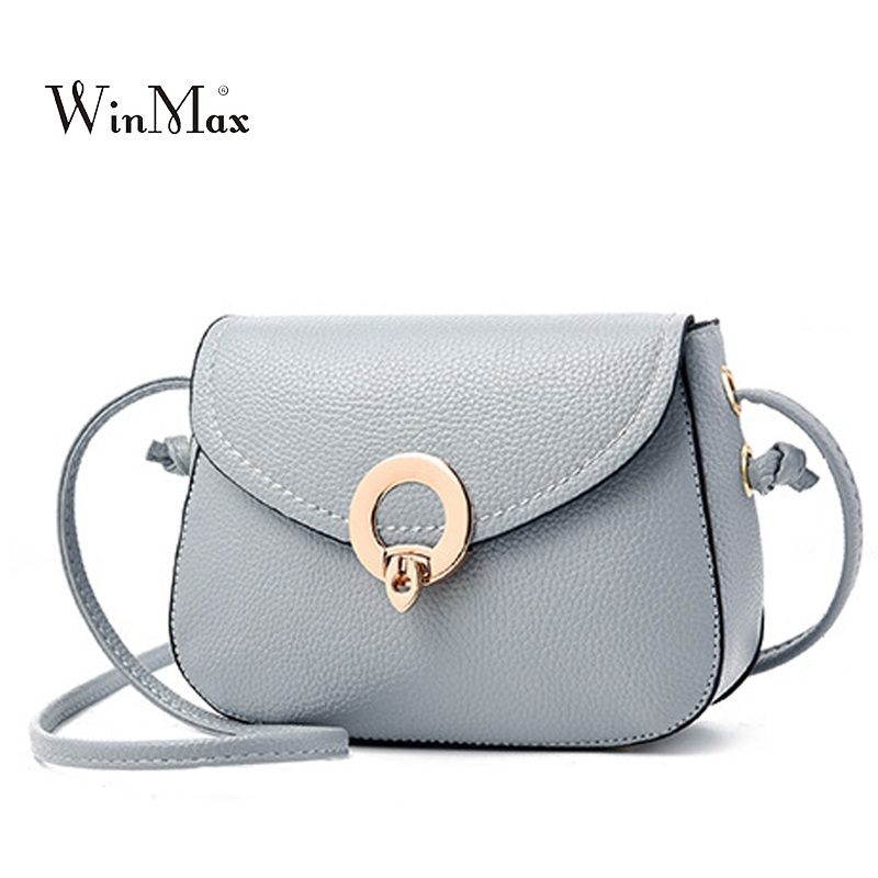 New Small Women Bag Candy Color Leather Handbag Female Shoulder Bag Lock Flap Fashion Ladies Crossbody Bag Bolsas for Girls Sac bao bao fashion fresh floral girls shoulder bags female handbag canvas small crossbody bag for women sac a main bolsas b086